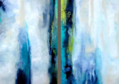 Verde Mar II – Diptych